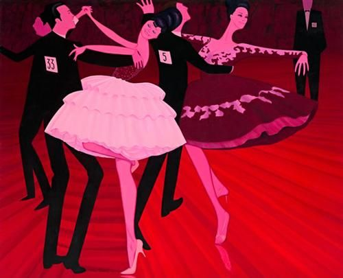 Latin American Grand Final - John Brack - Expressionism, 1969
