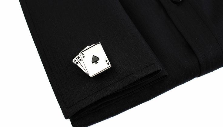 για δυνατούς παίκτες...  μανικετόκουμπα poker 39€