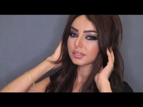 Persian / Arab makeup tutorial - YouTube