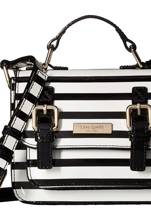 Kate Spade New York Kids Scout Bag (Black Cream Stripe) Bags - Kate Spade New York Kids, Scout Bag, 93BA9003-91-961, Bags and Luggage General, Bag, Bag, Bags and Luggage, Gift, - Fashion Ideas To Inspire