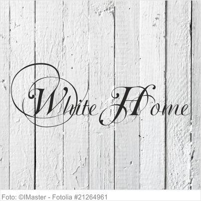 Möbeltattoo - White Home Shabby Chic Style