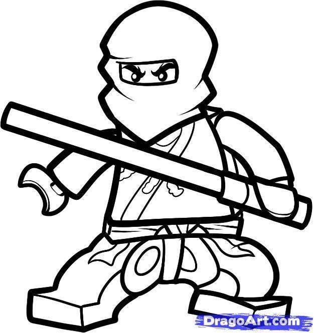 ninjago coloring pages to print - Ninjago Coloring Book