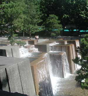Keller Fountain Park, Portland, Oregon