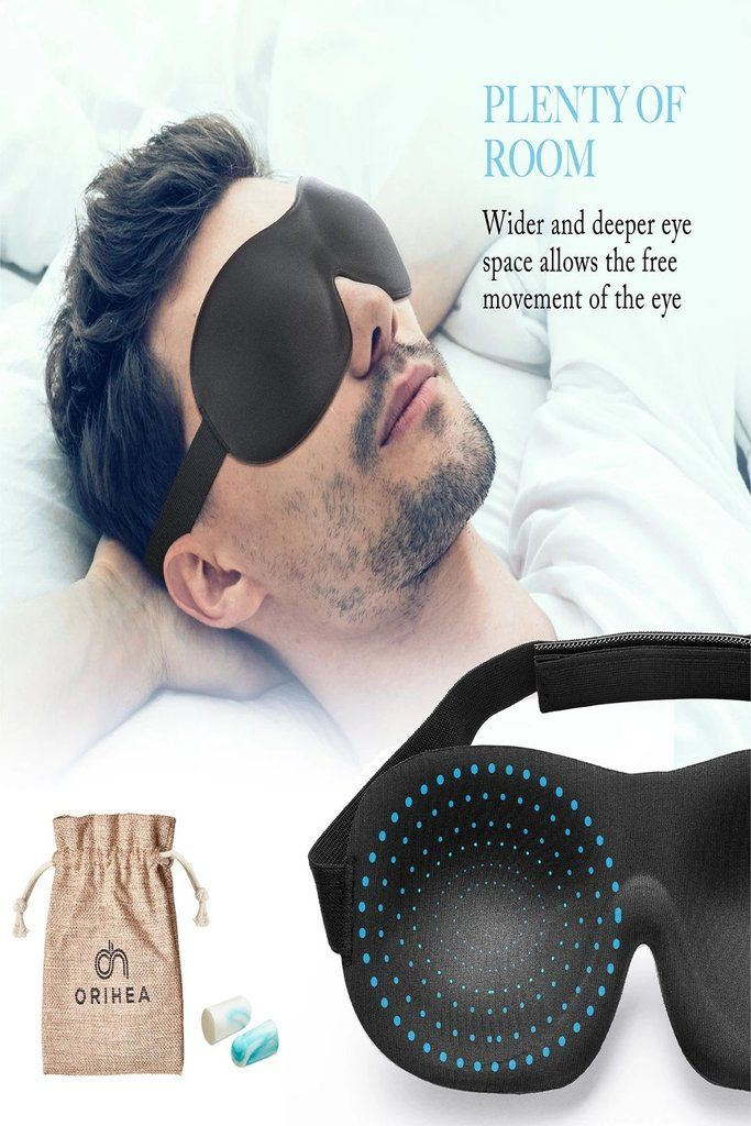 Eye mask sleep health
