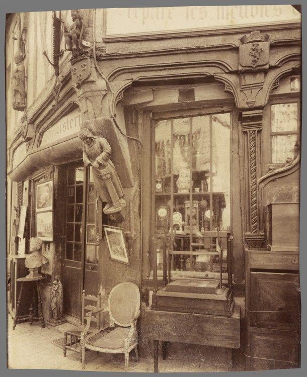Atget-Paris-Compigne-Vielle-Maison-rue-des-Lombards