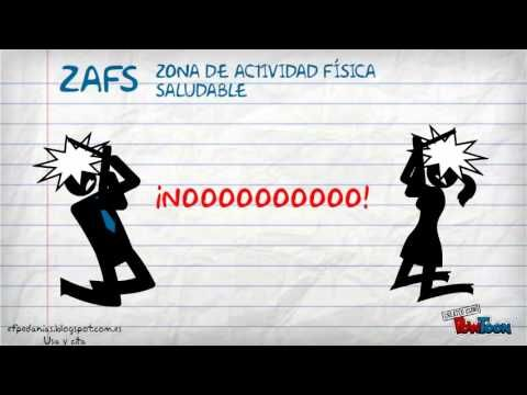 Vídeo Tutorial de cómo calcular la Zona de Actividad Física Saludable (ZAFS).