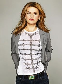 In all fairness, I was also told once, a long time ago, that I looked like her.  Sandra Bernhard. Not nearly as flattering as Uma.