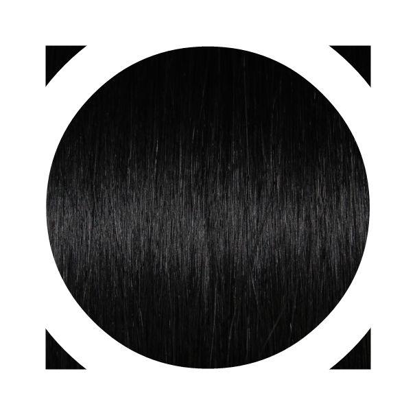 """Indisches Remy Haar - Italienisches Keratin   """"Premium Haar"""" Angen's Extensions mit keratin Technische Daten: Haar-Qualität: 100% Echthaar   Anzahl : 20 Strähnen Gesamtgewicht: 20g Haarlänge: ca. 55/60cm Haarstruktur: Glatt Farbe: Schwarz # 1B  Hitzeresistent: Ja (Normales stylen mit Föhn, Glätteeisen, Lockenstab etc. möglich) Durchschnittliche Haltbarkeit: ETWA 6 Monate"""