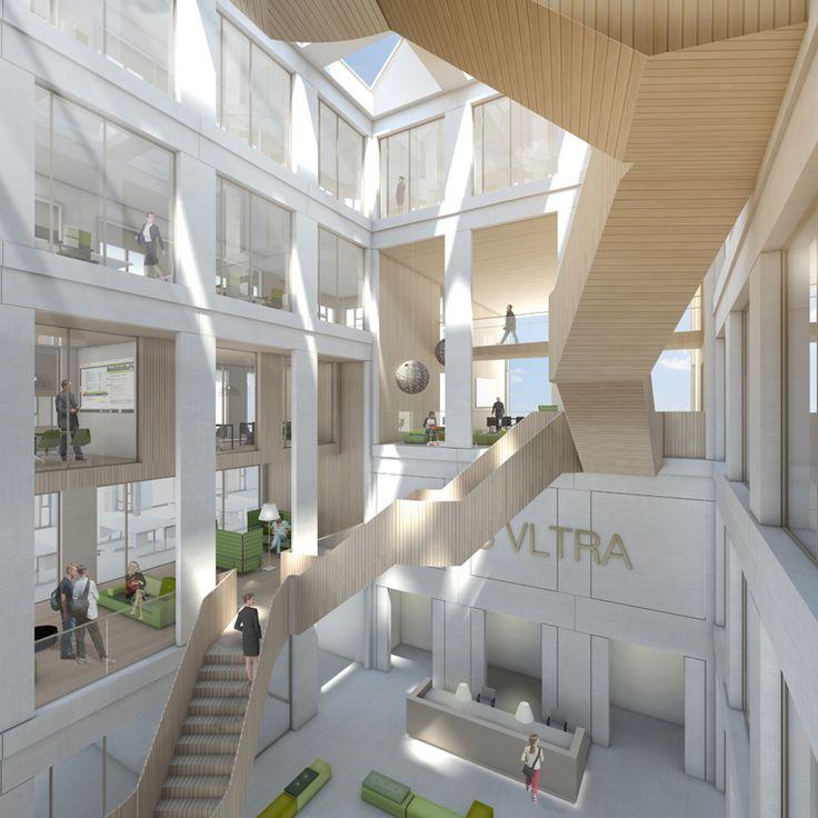 Nieuwe bedrijfsverzamelgebouw Universiteit Wageningen - Plus Ultra.