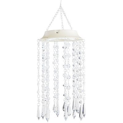 Have a place you need a light, but you don't have an electrical outlet nearby? We have just the light for you—our LED pendant. It has an umbrella-style shade, finished with columns of plastic beads and will add a nice glow to your covered patio or an out-of-the-way corner. If only all questions had such easy answers.