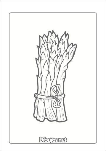 10 Dibujos De Verduras Para Imprimir Y Colorear Dibujos Net Free Art Pattern S Bullet Journal