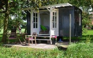 Leuke Trijne in Friesland. Schattige slaapwagens voor 2 personen