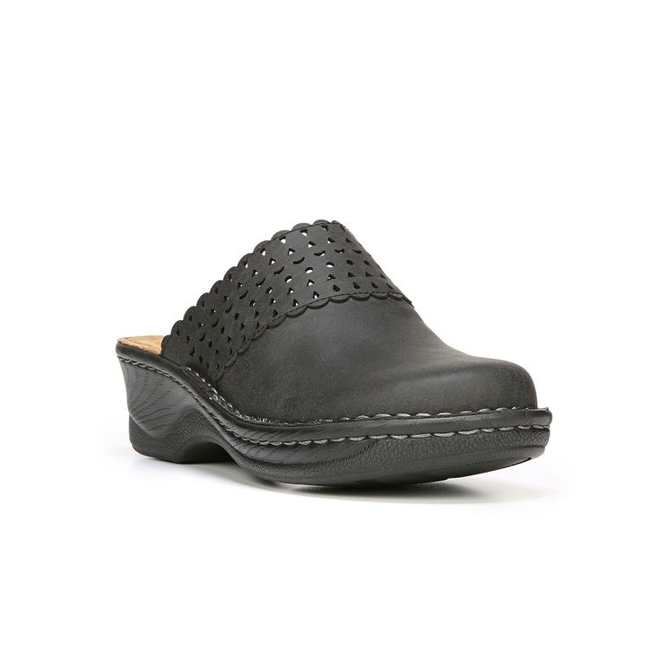 NaturalSoul by naturalizer Suny Women's Clogs, Size: medium (6), Black