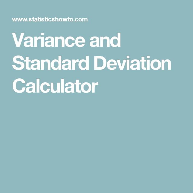 variance and standard deviation paper Forest-confidence-interval/paper/papermd mean and dispersion measures is  the basis for plotting with the square root of the variance (standard deviation.