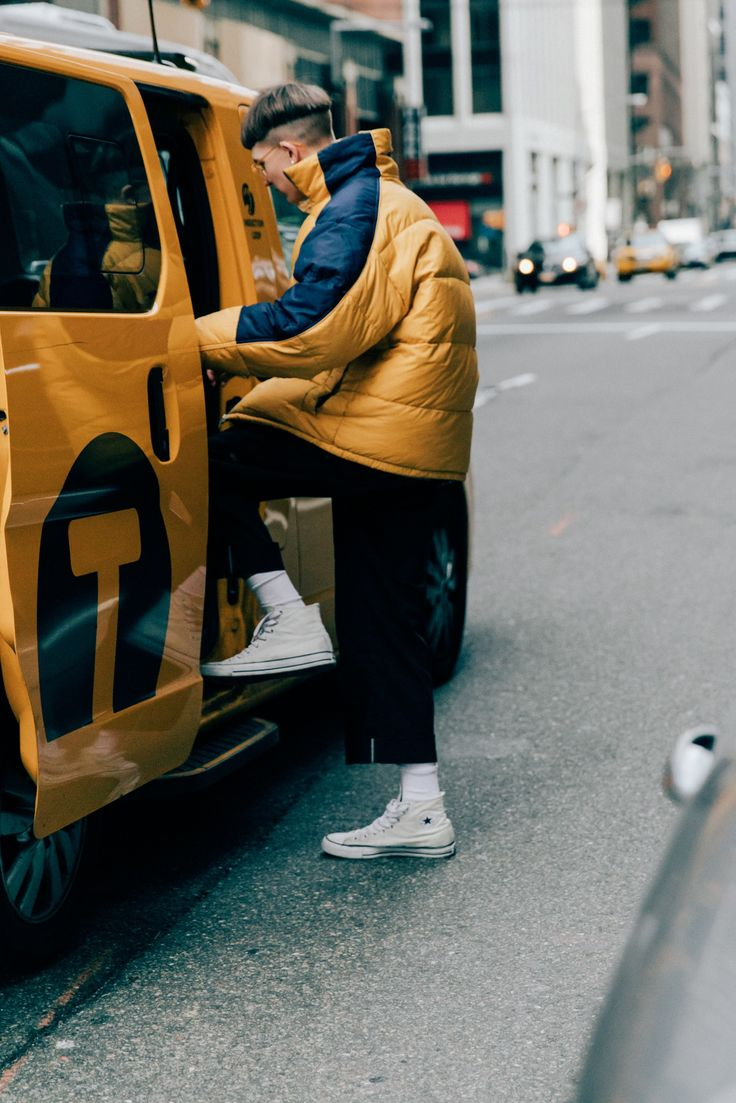 The Best Street Style from New York Fashion Week: Men's Photos | GQ