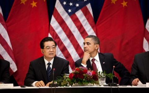 President Hu Jintao of China and President Barack Obama of the United States of America. #china #president #usa