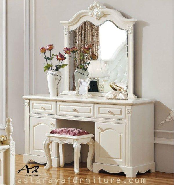 Meja Rias Clarissa Minimalis Furniture Jepara