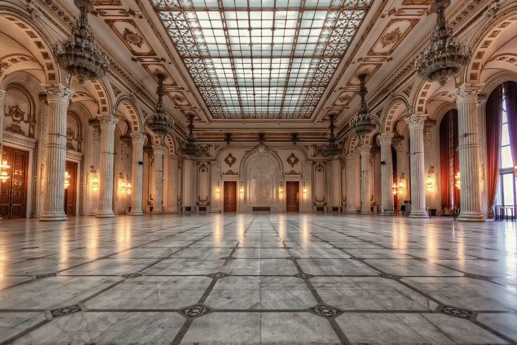 Bucharest's Palace of the Parliament – Ballroom | Romania - #Sumfinity HDR Photography