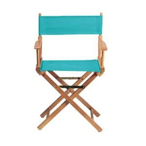 teal director 39 s chair cover home chairs and the o 39 jays