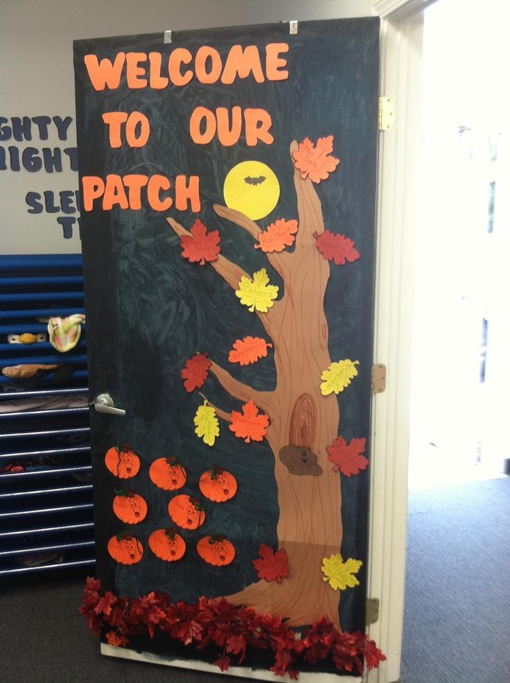 halloween classroom door decoration halloween. halloween ...
