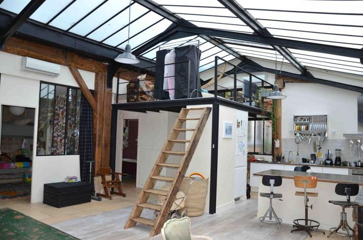 Verrière - Style Industriel - Décoration - Usine - Manufacture - Shed - Roof - Light - Open - Loft