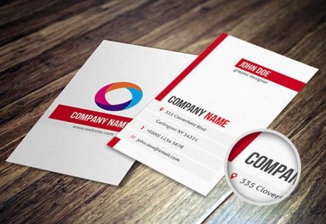 Clean Minimalist Business Card Template