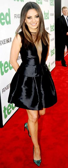 Classic, feminine, stunning - Mila Kunis in #Dior
