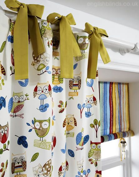 Pretty childrens curtains