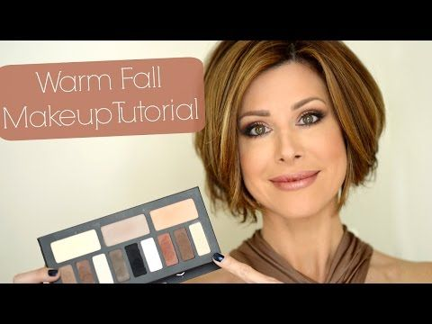 Fall Eye Makeup Tutorial | Kat Von D Shade & Light - YouTube