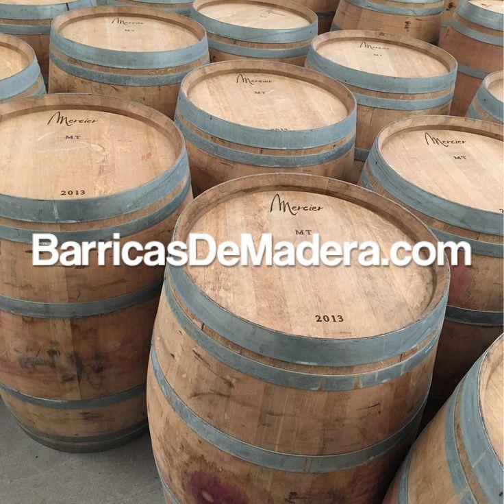 Today we say goodbye to Mercier 2013 barrels. They are on the way to Sweden 🇸🇪. | Hoy decimos adiós a las barricas Mercier 2013 que van de camino a Suecia 🇸🇪 .#usedbarrels #oakbarrels #barriques #botti #redwine #wijnvaten en #vaten #vintønde #woodenbarrel #tonneau #futdechene #winebarrel #oakbarrel #tonneaux #casks #barricas  #toneles #barriles #cubas #regenton #kopen #kuipen #wijnkuip #wijnvat #vatten #weinfass #fass