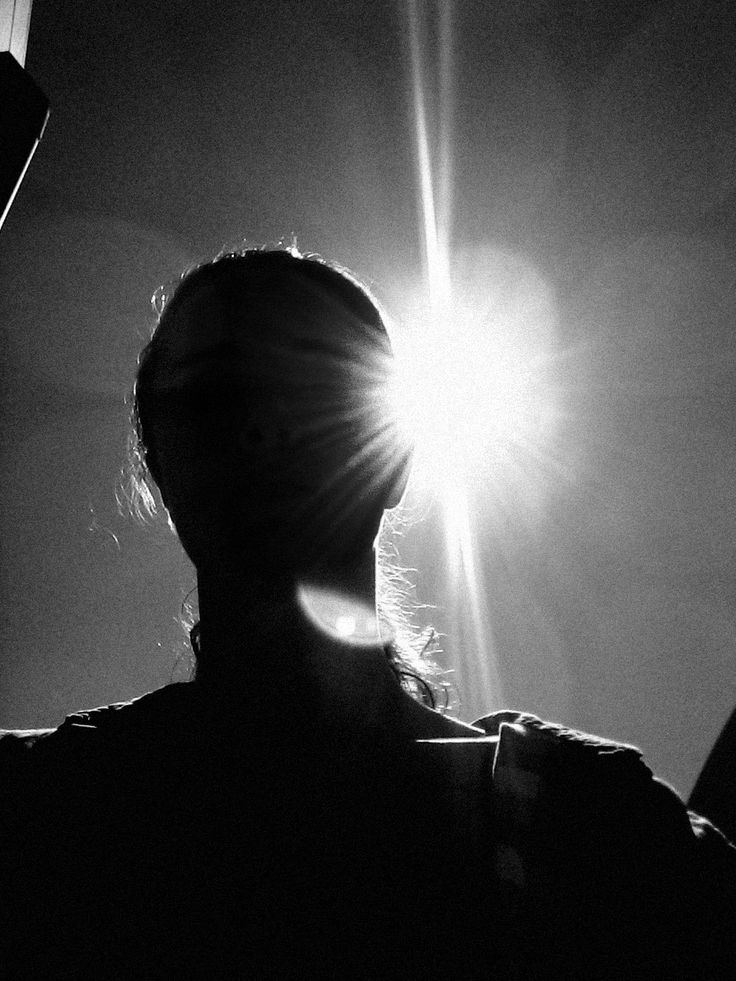 Self-portrait Silhouette, inspired by Vivian Maier. September 2014