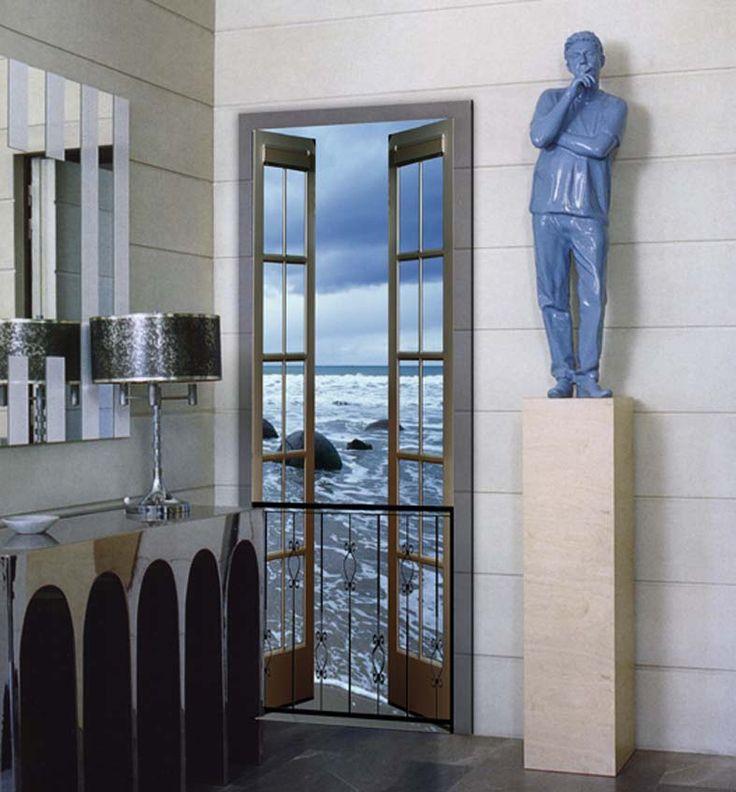 120 best fotomurales decorativos para el hogar images on - Fotomurales para puertas ...