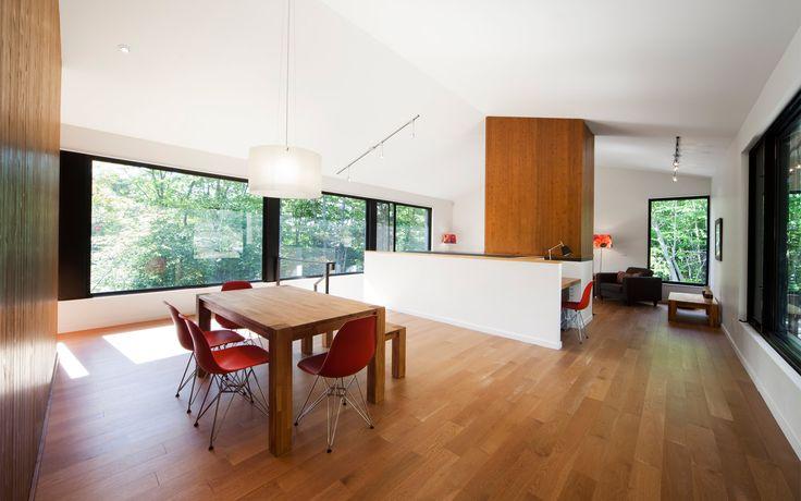 Résidence Panorama | Blouin Tardif Architecture Environnement modern zen eames simple simplicity cottage