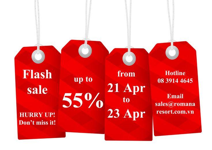 Flash sales!! Chương trình ưu đãi hấp dẫn, giá từ 1,080,000 vnd/ phòng Thời gian khuyến mãi chỉ áp dụng đến hết ngày 17/04/2015! Số lượng có hạn, nhanh tay lên các bạn ơi! Vui lòng liên hệ hotline 08 3914 4645 để được tư vấn và hỗ trợ! #flashsales #promotion #chuongtrinhkhuyenmai
