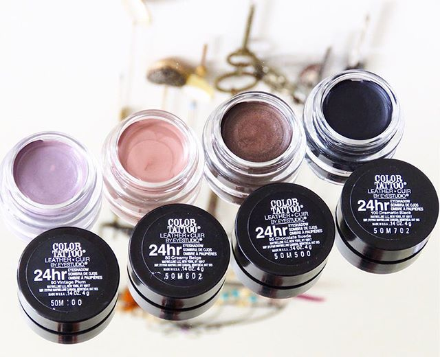 I am a 100% Colour Tattoo lover!! I use these so often as a primer for my eyeshadow! They are super cheap and you only need a small amount of product! These are four new shades to the range! I am excited to try use the black shade as an eyeliner! I will let you know how I get on!  @maybellinenz #maybellinenz #maybellinenewyork #nzblogger #colourtattoo #love #new