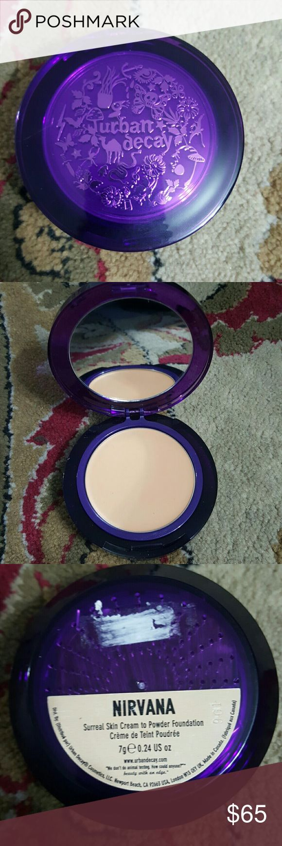 Urban decay Shade: Nirvana   Surreal skin cream to powder foundation Urban Decay Makeup Foundation