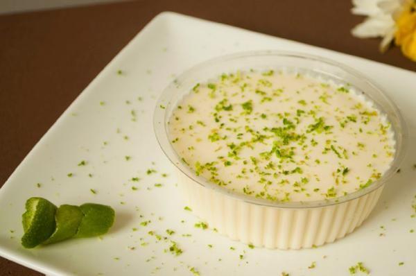 Receita de Mousse de limão com suco tang