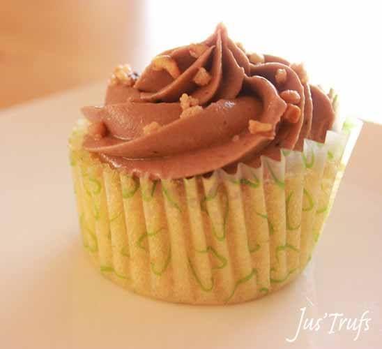 Hazelnut Rocher Cupcake