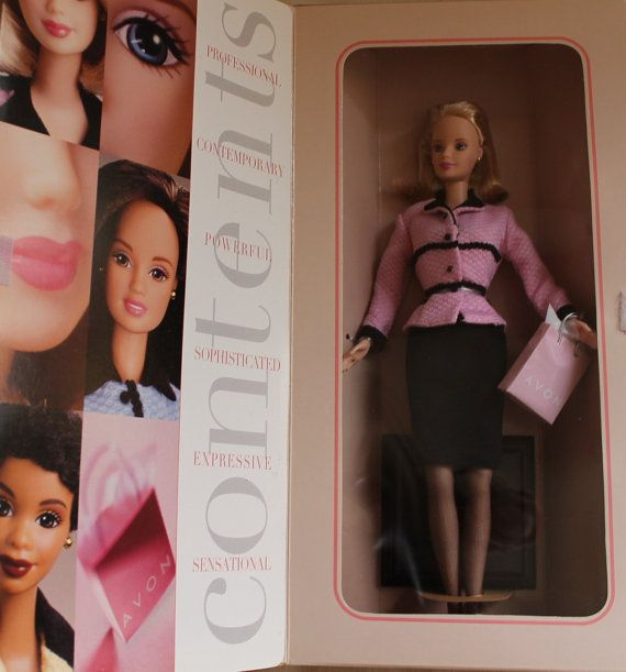 Barbie Avon Exclusive Avon Representative by ZuziDesign on Etsy, $14.90