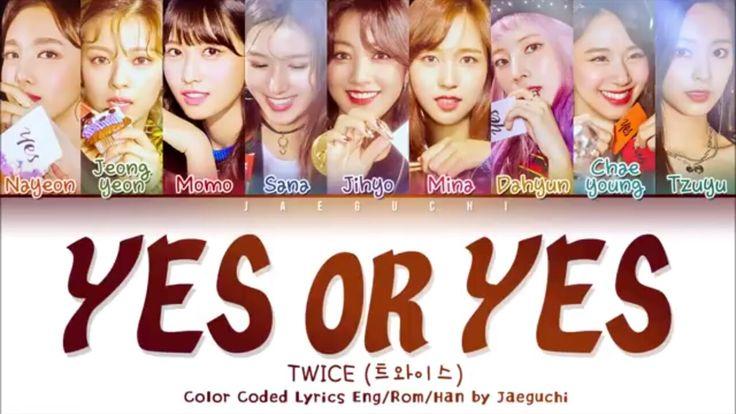 Twice Yes or Yes em 2020   Twice