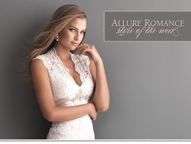 Style of the Week: Allure Romance Style 2619