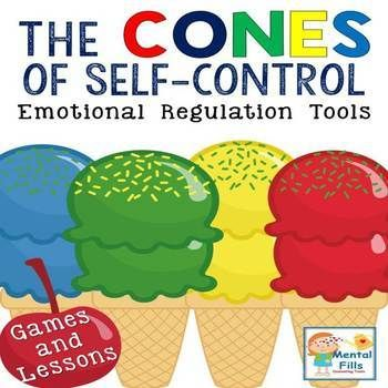 Self-control activities that compliment Leah Kuypers' Zones of Regulation® curriculum. A great therapy tool for social skills and anger management groups to teach both perspective taking and emotional regulation.