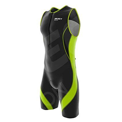 Select Men Triathlon Tri Suit Compression Running Racing Swimming Cycling Skin suit