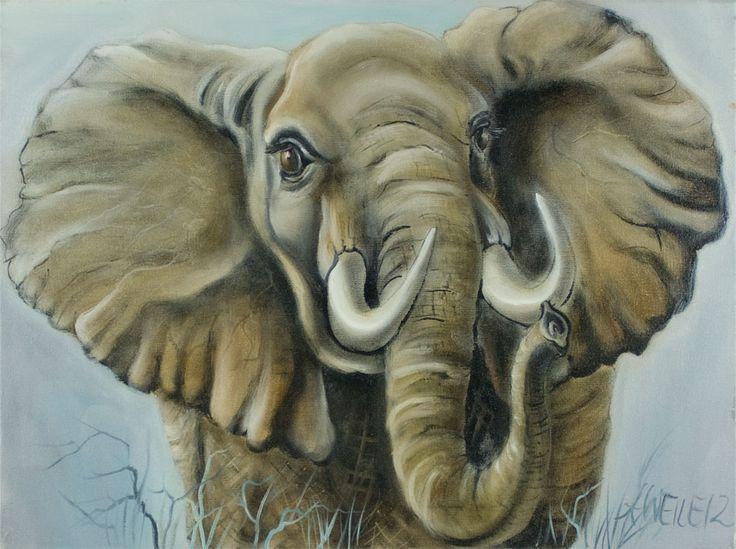 die besten 17 ideen zu elefant gem lde auf pinterest elefantenkunst elefanten und elefanten. Black Bedroom Furniture Sets. Home Design Ideas