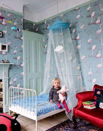 25 beste idee n over flamingo behang op pinterest flamingo illustratie flamingo en patronen - Behang voor toiletten ...