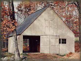 Barn & Garage Kits for Owner-Builders from Shelter-Kit®
