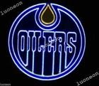 New EDMONTON OILERS Hockey NHL Beer Bar Pub Real Neon Light Sign FREE SHIP at Ebay