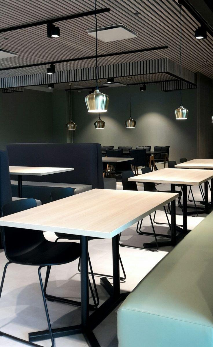 Interior design for Tesan restaurant in Espoo, Finland. Design by Jenni Koskela