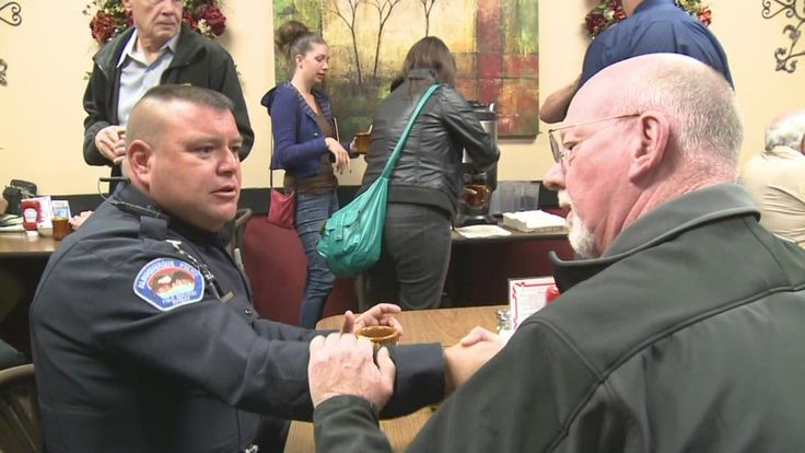 Are community coffee events effective? - It started in Albuquerque with Coffee with a Cop and now everyone from city councilors to local contractors are trying it, hoping to improve community relations.