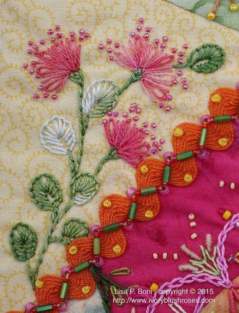 A Stitch In Time • by ivoryblushroses on Flickr